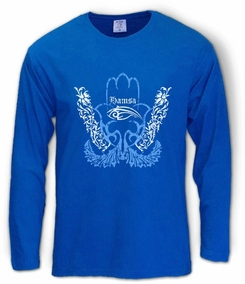 Hamsa Eye Long Sleeve T-Shirt