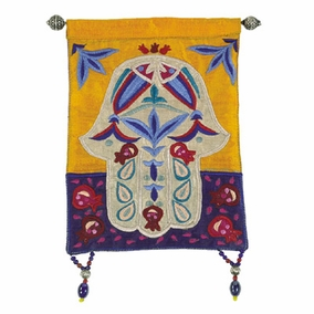 Hamsa – Fish – Multicolor Wall Hanging CAT# HL-1