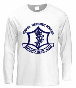I.D.F Logo Long Sleeve T-Shirt