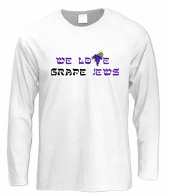 I Love Grape Jews Long Sleeve T-Shirt