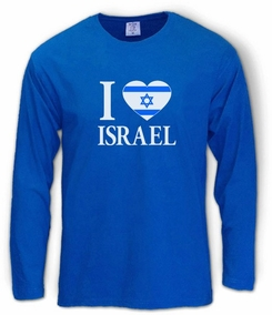 I love Israel Long Sleeve T-Shirt