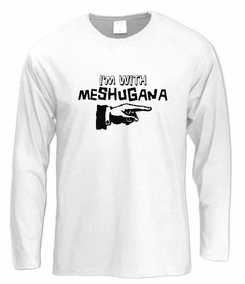 I'm with Meshugana Long Sleeve T-Shirt