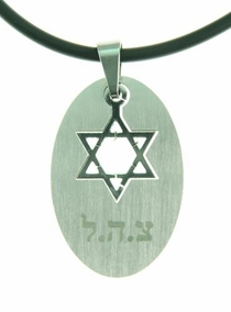 IDF & Star Of David  Dog Tag