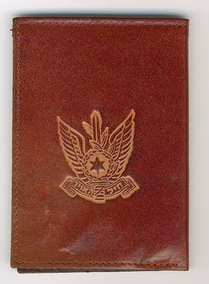 Israel Air Force Leather Wallet