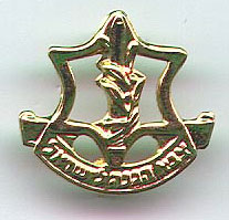 Israel Army IDF Gaza Communications Unit Insignia