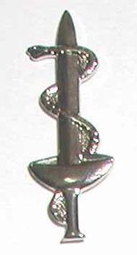 Israel Army Medical Officer Insignia