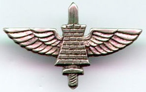 Israel Army Sapper Paratrooper Pin