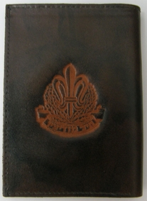 IDF Intelligence Corps Leather Wallet