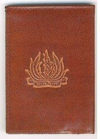 Israel Navy Leather Wallet