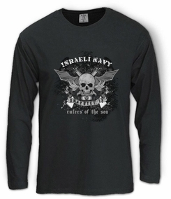 Israel Navy Shayetet 13 Long Sleeve T-Shirt