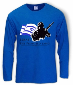 Israel - The Promised Land Long Sleeve T-Shirt