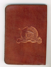IDF Artillery Corps Leather Wallet