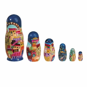 Jerusalem Babushka (Nesting Dolls) CAT# BB- 1