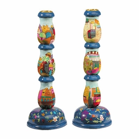 Jerusalem Candlesticks –Large CAT# LCS- 1