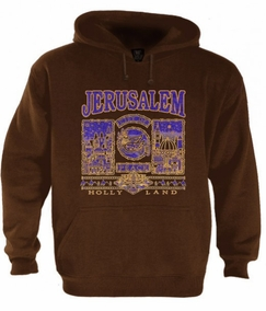 Jerusalem, City of Peace Hoodie