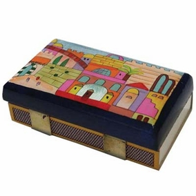 Jerusalem Match Box – Kichen Size CAT# MBM - 1