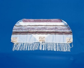 Jerusalem wall Traditional Jewish Tallit for grown-ups 50X180cm