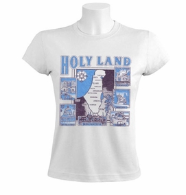Jesus Trail in the holyland Women T-Shirt