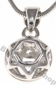 Jewish Ball Necklace
