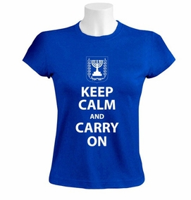 Keep Calm and Carry On Women T-Shirt