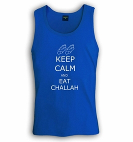 Keep Calm and Eat Challah Singlet