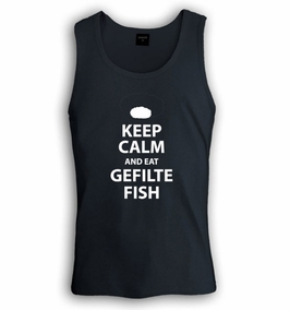 Keep Calm and Eat Gefilte Fish Singlet