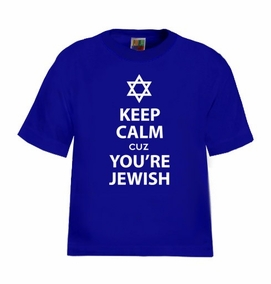 Keep Calm cuz You are Jewish Kids T-Shirt