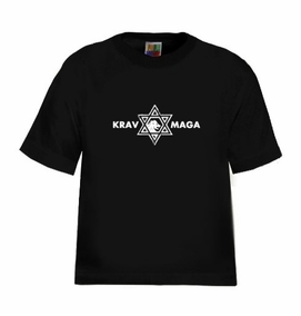 Krav Maga Casual Star of David Kids T-Shirt