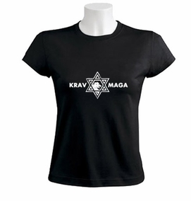 Krav Maga Casual Star of David Women T-Shirt