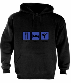 "Krav Maga ""Eat,Sleep & Fight"" Hoodie"