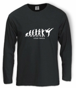 Krav Maga Evolution Long Sleeve T-Shirt