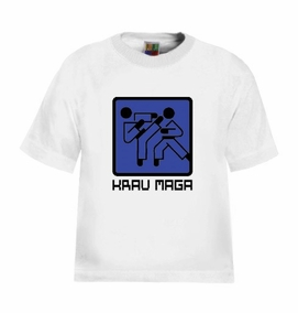 Krav Maga Graphic Sign Kids T-Shirt