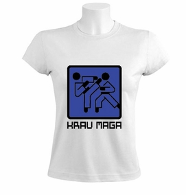 Krav Maga Graphic Sign Women T-Shirt