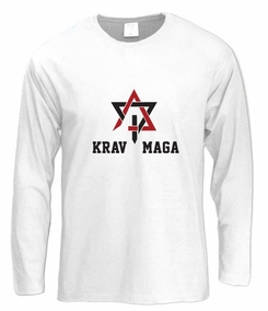 Krav Maga Star Long Sleeve T-Shirt