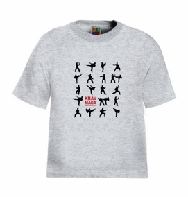 Krav Maga Techniques Kids T-Shirt