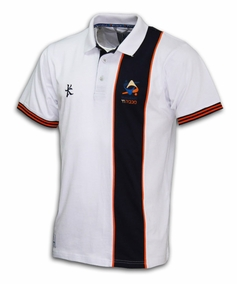 Kukri 18th Maccabiah Vertical stripe Polo shirt