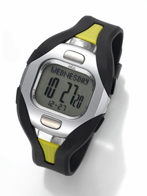 Ladies heart meter watch - 09L620 Yellow
