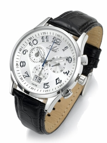 Luxury gent's stainless steel chronograph - 2994