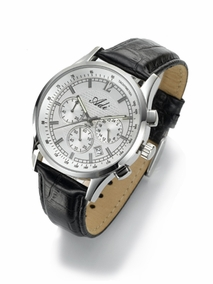 Luxury stainless steel chronograph - 2995 - white