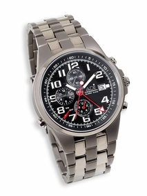 Luxury titanium chronograph watch - 2381