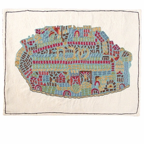 Madaba Map Challah Cover CAT# CHE-22