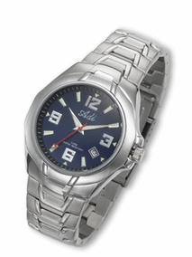 Men's sporty elegant watch - 875 -  blue