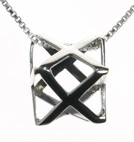Merkaba Necklace - Kabbalah Symbol
