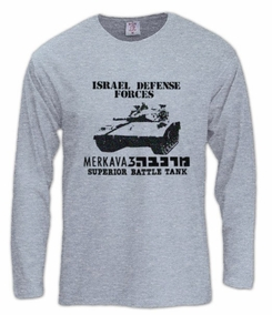 Merkava 3 Long Sleeve T-Shirt