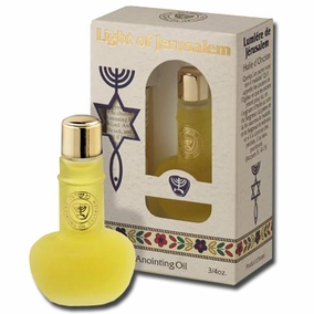 Messianic Light of Jerusalem anointing oil
