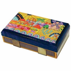 Modern Jerusalem Match Box – Kichen Size CAT# MBM - 5