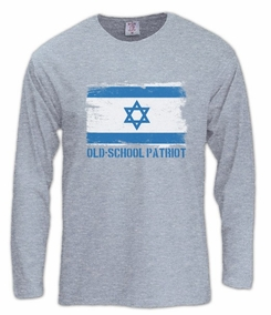 Old School Patriot Long Sleeve T-Shirt