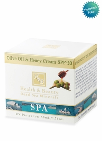 Olive Oil and Honey Cream SPF20