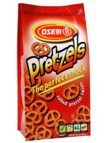 OSEM Pretzel Salty Twists 400g