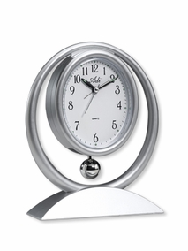 Oval desk alarm clock - 2088